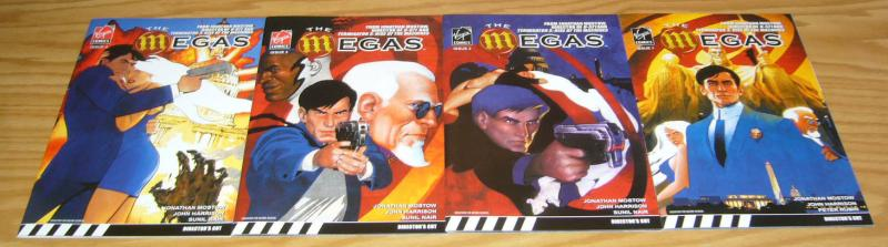 the Megas #1-4 VF/NM complete series JONATHAN MOSTOW [terminator 3 director] 2