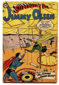 SUPERMAN'S PAL JIMMY OLSEN  #2 Circus cover-1954-comic book G+
