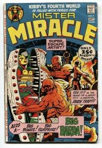 Mister Miracle #4 comic book 1971-DC 1st BIG BARDA-Kirby 4th World VG/FN