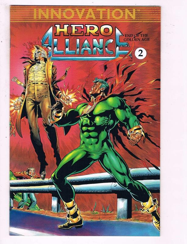 Hero Alliance #2 VF Innovation Comic Book 1989 DE13