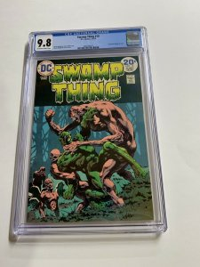 Swamp Thing 10 Cgc 9.8 Ow/w Pages Dc Bronze Age 2042366017