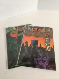 JSA The Unholy 3 1-2 Lot Set Run Nm Near Mint DC Comics A48