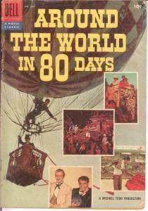 AROUND THE WORLD UNDER THE SEA MOVIE CLASSICS VG COMICS BOOK