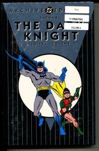 Dark Knight Archives 4 hardcover- sealed