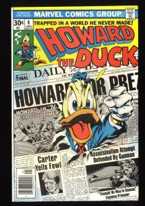 Howard the Duck #8 NM+ 9.6