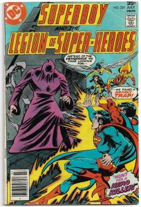 Superboy and the Legion of Super Heroes #229 (1977) G