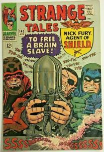 STRANGE TALES#143 FN/VF 1966 MARVEL SILVER AGE COMICS