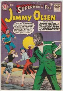 Jimmy Olsen, Superman's Pal  #44 (Apr-60) GD/VG Affordable-Grade Jimmy Olsen
