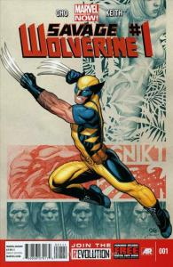 Savage Wolverine #1 VF/NM; Marvel | save on shipping - details inside