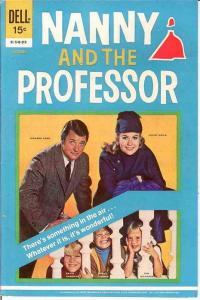 NANNY & THE PROFESSOR (DELL) 2 F-VF   October 1970 COMICS BOOK
