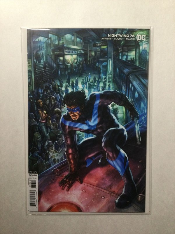 Nightwing 76 Near Mint Nm Variant Dc Comics