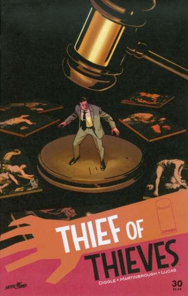 2012 Thief of Thieves #34 VF//NM Image Comics