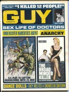 Guy 2/1968-Ed McBain-war-crime-exploitation-cheesecake-FN