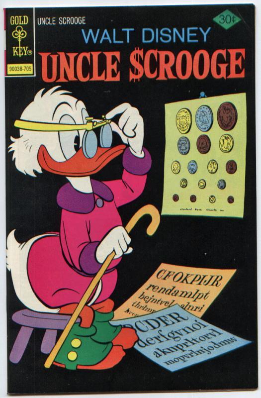 Uncle Scrooge #140 VF/NM 9.0 (Gold Key, 1977)  ORIGINAL OWNER - UNREAD!
