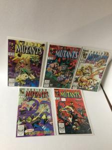 The New Mutants 76 77 78 79 80 Nm Near Mint A25