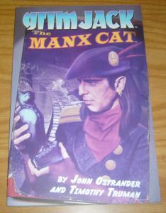 Grimjack: the Manx Cat TPB VF/NM john ostrander - signed by tim truman 2010