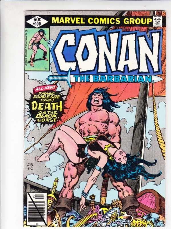 Conan the Barbarian #100 (Jul-79) VF/NM High-Grade Conan the Barbarian