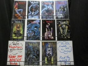 WICKED (1999 IM) 1,1B,2-3,3A,4-7,Preview  COMPLETE+++ COMICS BOOK
