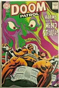 DOOM PATROL#119  VG 1968 DC SILVER AGE  COMICS