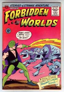 Forbidden Worlds #130 (Sep-65) VF High-Grade Magicman