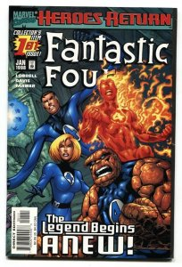 Fantastic Four #1 1998 First issue comic book NM-