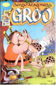 GROO (1994 IM) 9 (1.95 CVR) VF-NM Aug. 1995 COMICS BOOK