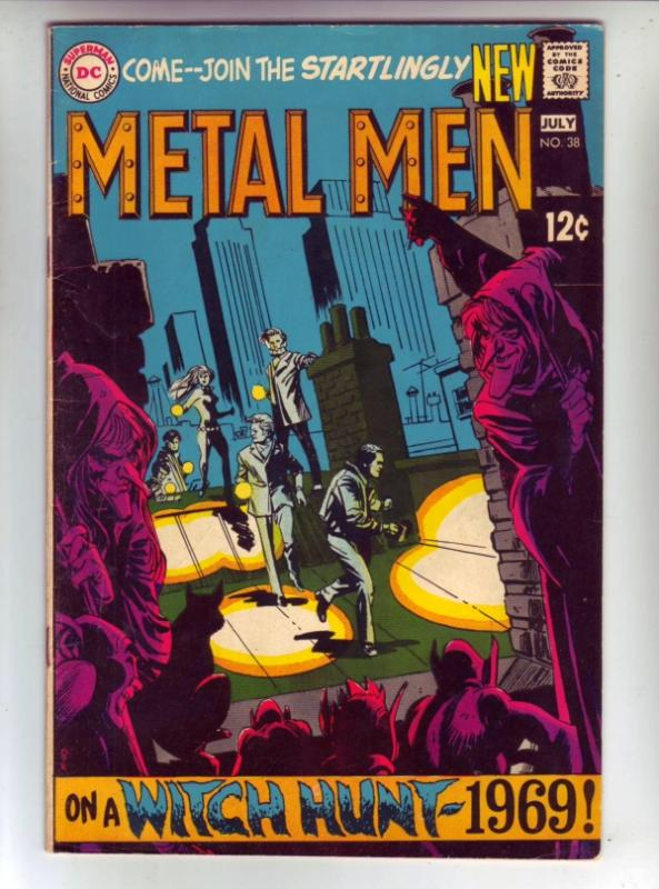 Metal Men #38 (Jul-69) NM- High-Grade Metal Men (Led, Tina, Tin, Gold, Mercur...