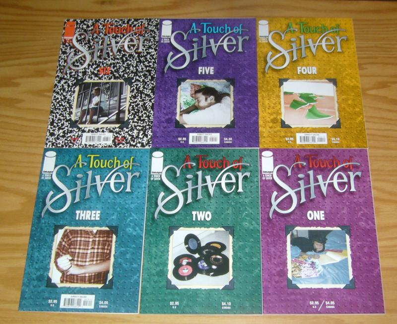 A Touch of Silver #1-6 VF/NM complete series - jim valentino bio comics set lot