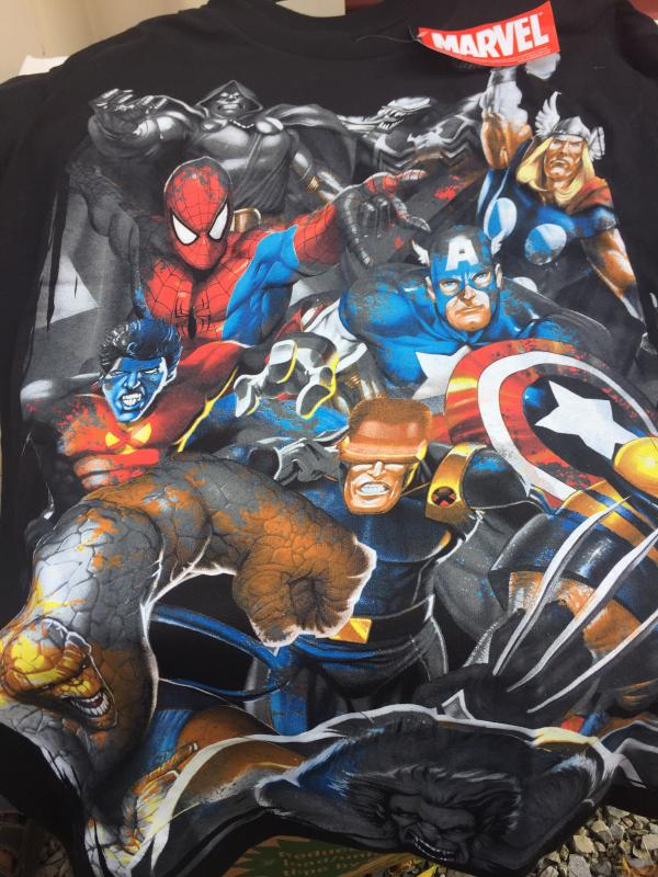 MARVEL T-shirt BRING ON THE BAD GUYS