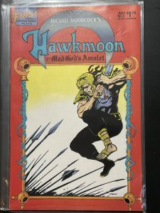 Hawkmoon: The Mad God's Amulet #4 (1987)