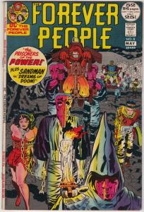 Forever People #8 (May-72) NM/NM- High-Grade Big Bear, Beautiful Dreamer, Ser...