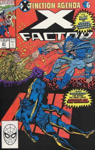 X-Factor #61 VF/NM; Marvel | save on shipping - details inside