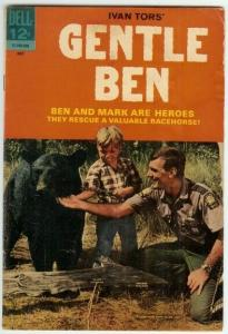 GENTLE BEN (1968-1969 DELL) 2 VG PHOTOCOVER: Clint Howa COMICS BOOK
