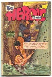 Heroic #64 1951- Golden Age Comic G