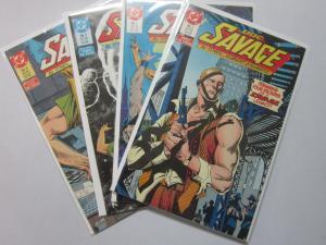 Doc Savage (1st Series), SET:#1-4, 8.0/VF (1987) PULP