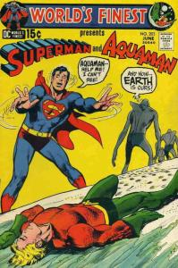 World's Finest Comics #203 VG; DC   low grade comic - save on shipping - details