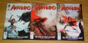 American McGee's Akaneiro #1-3 VF/NM complete series based on RPG dark horse 2