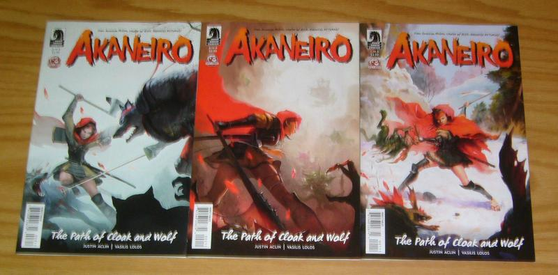 American McGee's Akaneiro #1-3 VF/NM complete series based on RPG dark horse 2