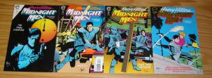 Midnight Men #1-4 VF/NM complete series - howard chaykin - epic comics set 2 3