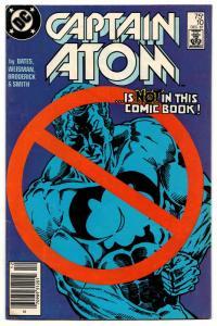 Captain Atom #10 (DC, 1987) VG/FN