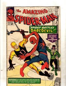 Amazing Spider-Man # 16 VG- Marvel Comic Book Daredevil Crossover Appearance FM2