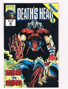 Deaths Head 2 # 5 VF/NM Marvel Comic Books Die Cut Wild Thing Major Mayhem! SW11