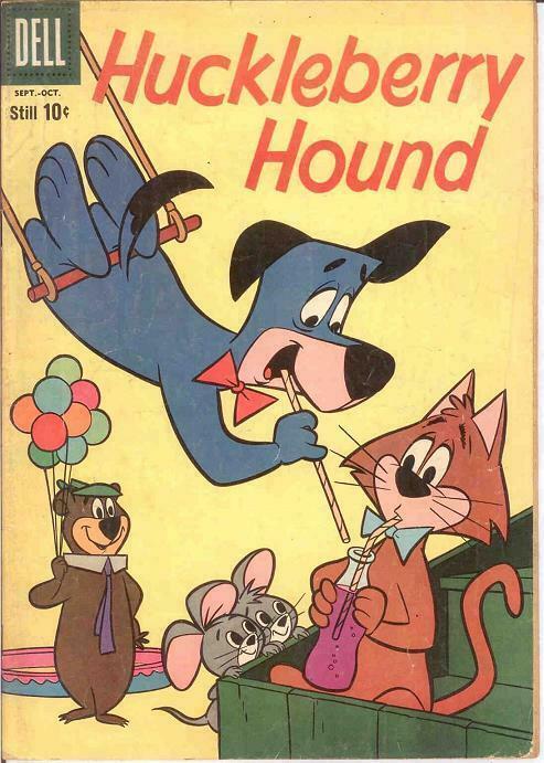 HUCKLEBERRY HOUND (1959-1970 DELL/GK) 7 VG COMICS BOOK
