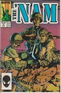 THE 'NAM  #11 VIET NAM WAR,  Oct. '87, MARVEL COMICS, BAGGED & BOARDED