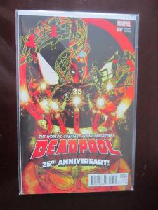 Deadpool #7 C - 4th series - VF - 2016
