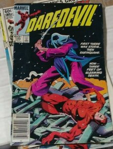 DAREDEVIL  # 199 marvel 1983  YOUURO-THE HAND NINJAS KINGPIN BULLSEYE