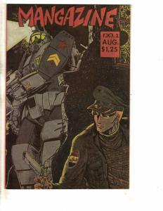 10 Indy Comics 1 4 3 Mangazine Malibu Cyber 7 Raver Valiant Gambit Moebius J229