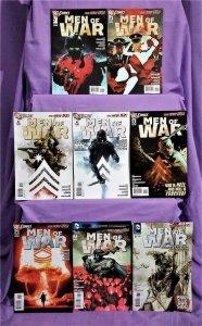 DC New 52 MEN OF WAR #1 - 8 Sgt Rock Tom Derenick Phil Winslade (DC, 2011)!