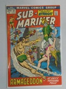 Sub-Mariner #51 6.0 FN (1972 1st Series)