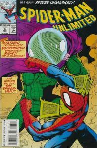 Marvel SPIDER-MAN UNLIMITED (1993 Series) #4 VF/NM